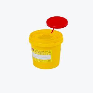 Контейнер для острого инструментария, 1.0 л.