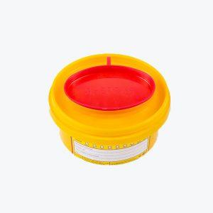 Контейнер для острого инструментария, 0.5 л.
